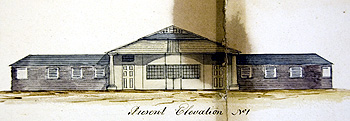 Original elevation of the sheep shearing house [RBox818/18/23]